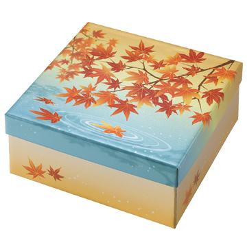貼箱 銀ペット 紅葉の錦
