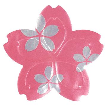 シール キラキラ桜