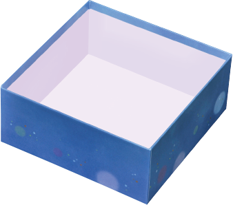 150角貼箱 夕涼み