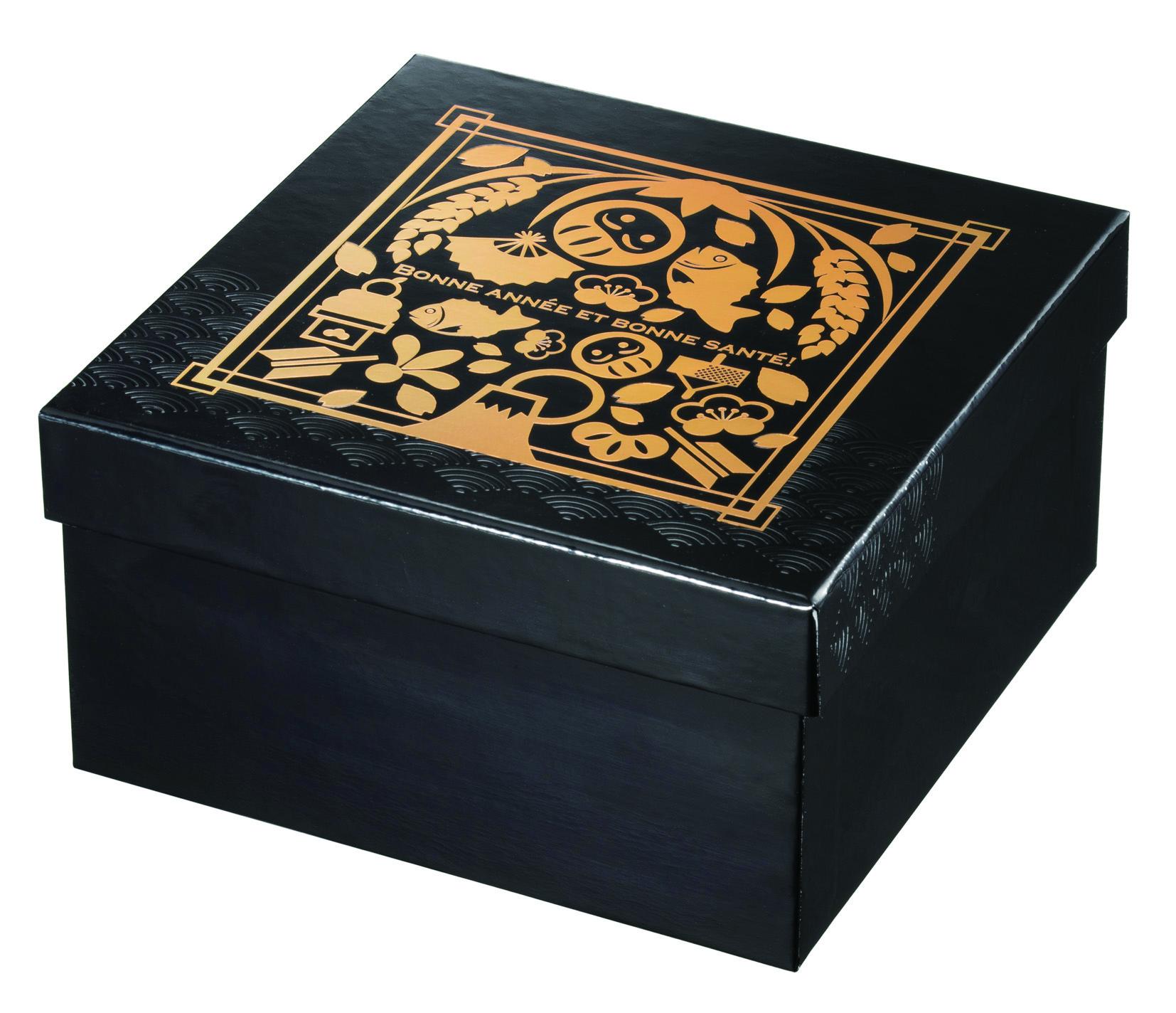 130角貼箱 漆黒